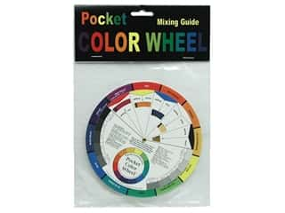 Color Selectors / Color Evaluators: The Color Wheel Co. Color Wheel Pocket 5 1/8""