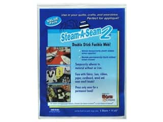 Steam-A-Seam 2 Fusible Web 9&quot;x 12&quot; 5pc