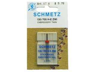 schmetz embroidery needle: Schmetz Machine Embroidery Needle Twin Size 75/2.0