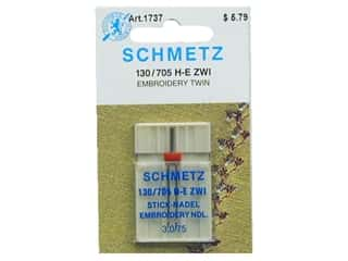 Needles / Machine Needles $3 - $4: Schmetz Machine Embroidery Needle Twin Size 75/3.0