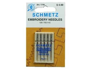 schmetz embroidery needle: Schmetz Machine Embroidery Needle Size 75/11
