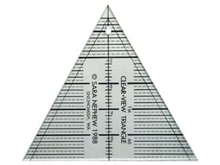 Clearview Triangle Rulers 6&quot; Triangle