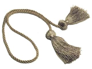 "Tassels: Conso Princess 27"" Chair Tie Sandstone"