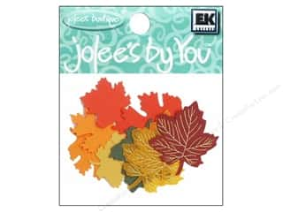 Autumn Leaves Papers: EK Jolee's By You Greenery Leaves Maple Autumn