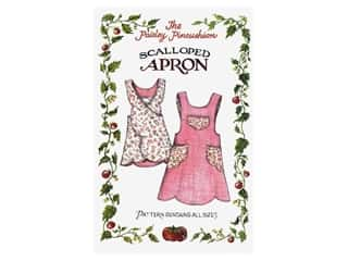 Aprons: Paisley Pincushion Scalloped Apron Pattern