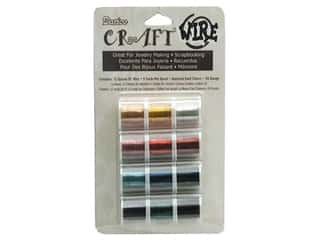 wire: Darice Craft Wire 26 Ga 5yd 12pc Dark