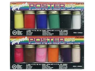 Tempera Poster Paint Set 3/4oz 12pc