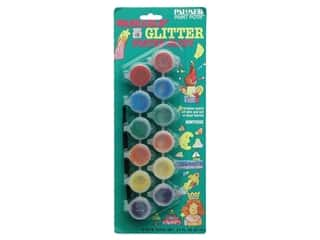 Washable Glitter Poster Paint Set 12 Pot