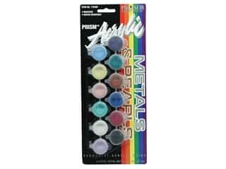 Acrylic Paint Set 12 Pot Metal/Pearl