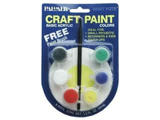 Palmer Paints Palmer Prism Acrylic Paint: Palmer Prism Acrylic Paint Set 6 Pot Mini Basic