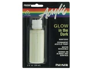 Finishes Glow: Palmer Prism Glow in the Dark Acrylic Paint 2oz