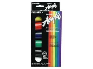 Palmer Paints Palmer Prism Acrylic Paint: Palmer Prism Acrylic Paint Set 3/4oz 6pc Jar