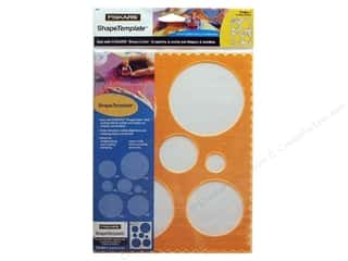Templates Shape Templates: Fiskars ShapeTemplate Circles #1