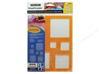 Templates Shape Templates: Fiskars ShapeTemplate Squares #1