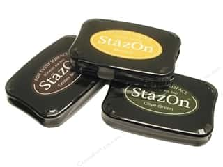 Tsukineko StazOn Solvent Stamp Pad Large