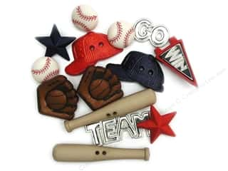 Jesse James Embellishments Sports Collection Baseball