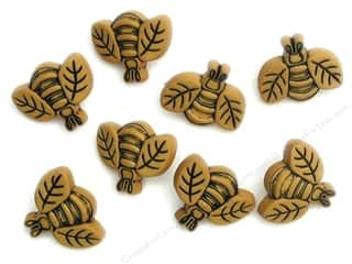 Jesse James Buttons Summer Fun: Jesse James Dress It Up Embellishments Button Fun Large Bees