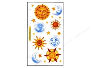EK Sticko Stickers Vellum Sun & Moons