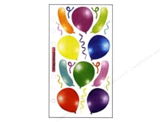 EK Sticko Stickers Vellum Balloons