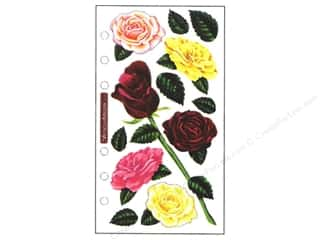 Theme Stickers / Collection Stickers: EK Sticko Stickers Vellum Roses