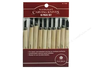 Walnut Hollow: Walnut Hollow Carving Knives Set 10pc