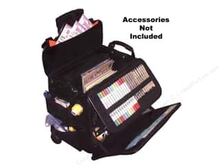 Scrapbooking & Paper Crafts: Crop In Style Tote NaNavigator Black