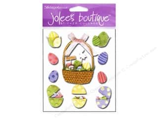 Jolee's Boutique Stickers Ornate Egg Basket