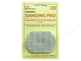 Sand $1 - $2: Eversand Carded Sanding Pads Small 280/400