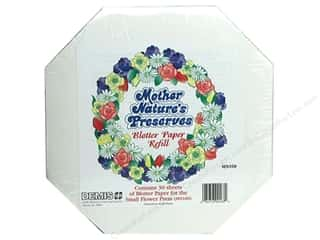 Mother Nature's Papers: Mother Nature's Preserves Blotter Paper Small
