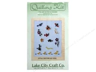 Lake City Crafts Quilling Kit Quick&amp;Easy Sm Critrs