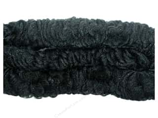 "Accent Design Chenille Stem 38mm Curly 36"" Black"