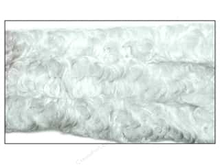 chenille stem curly: Curly Chenille Stem 38 mm x 36 in. White
