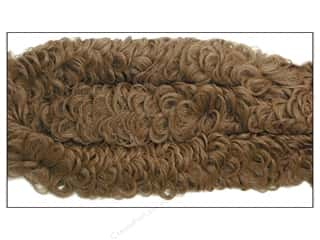 "chenille stem curly: Accent Design Chenille Stem 38mm Curly 36"" Brown"