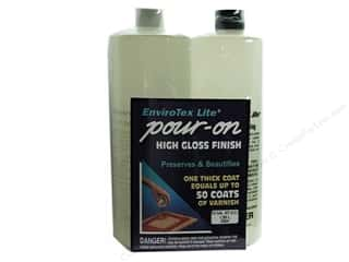 Resin, Ceramics, Plaster Black: Envirotex Lite Kit 1/2 Gallon