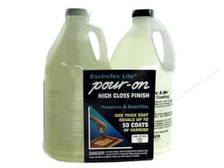 Resin, Ceramics, Plaster Black: Envirotex Lite Kit Gallon
