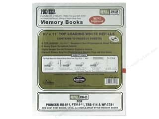 "Pioneer Photo Album Inc: Pioneer Refill Page Memory 8.5""x 11"" White"
