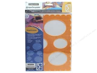 Templates Shape Templates: Fiskars ShapeTemplate Ovals #1