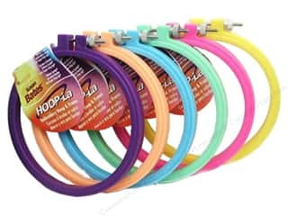 hoops > quilting hoops: Susan Bates Hoop-La Embroidery Hoops 5 in. 1 pc.
