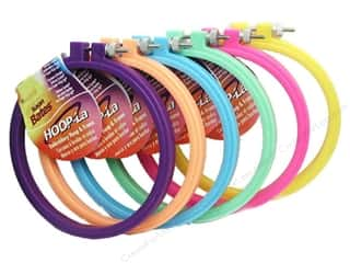 hoops > quilting hoops: Susan Bates Hoop-La Embroidery Hoops 7 in. 1 pc.
