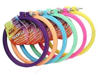 hoops > quilting hoops: Susan Bates Hoop-La Embroidery Hoops 10 in. 1 pc.