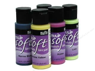 Tulip Soft Fabric Paint, SALE $1.39-$7.49.