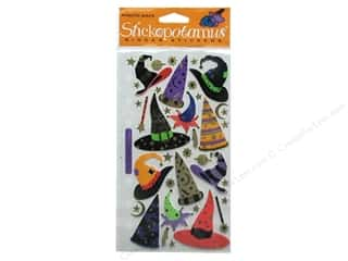 EK Sticko Stickers Witch &amp; Wizard Hats