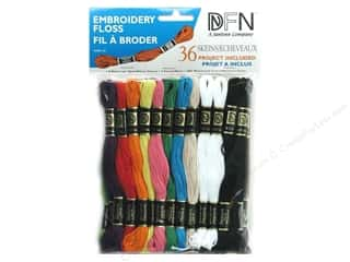 Janlynn Bracelets: Janlynn Embroidery Floss Pack 36 pc. Primary