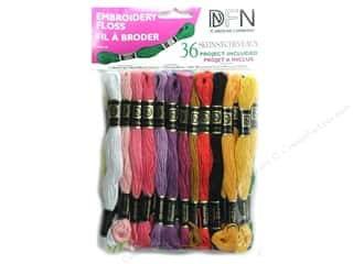 Punches Punch Embroidery: Janlynn Embroidery Floss Pack 36 pc. Pastel