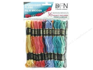 Punches Punch Embroidery: Janlynn Embroidery Floss Pack 36 pc. Variegated