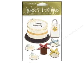 Jolee's Boutique Stickers Simple Birthday Cake (3 packages)