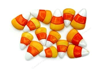 Halloween mm: Jesse James Dress It Up Embellishments Halloween Collection Candy Corn