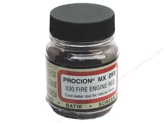 Jacquard Procion MX Dye 2/3 oz. Fire Engine Red