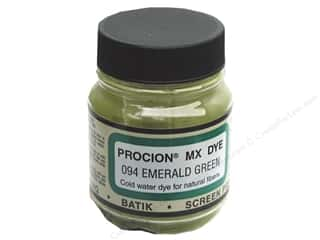 Dyes $2 - $3: Jacquard Procion MX Dye 2/3 oz. #094 Emerald Green