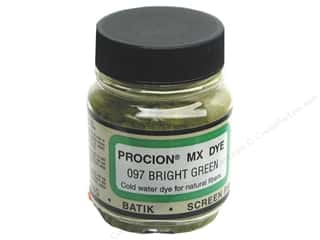 Jacquard Procion MX Dye 2/3 oz Bright Green